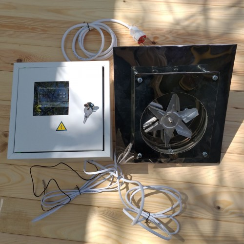Электрика для коптильни на 10-30 кг конвекция
